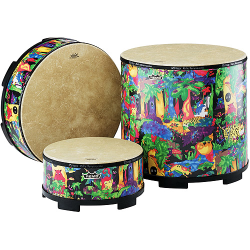 Remo Kids Percussion - Gathering Drum, 16""