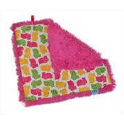 Tivoli Couture SLB 1102 Shag-e Lovie - Security Blanket, Happy Hippo - green