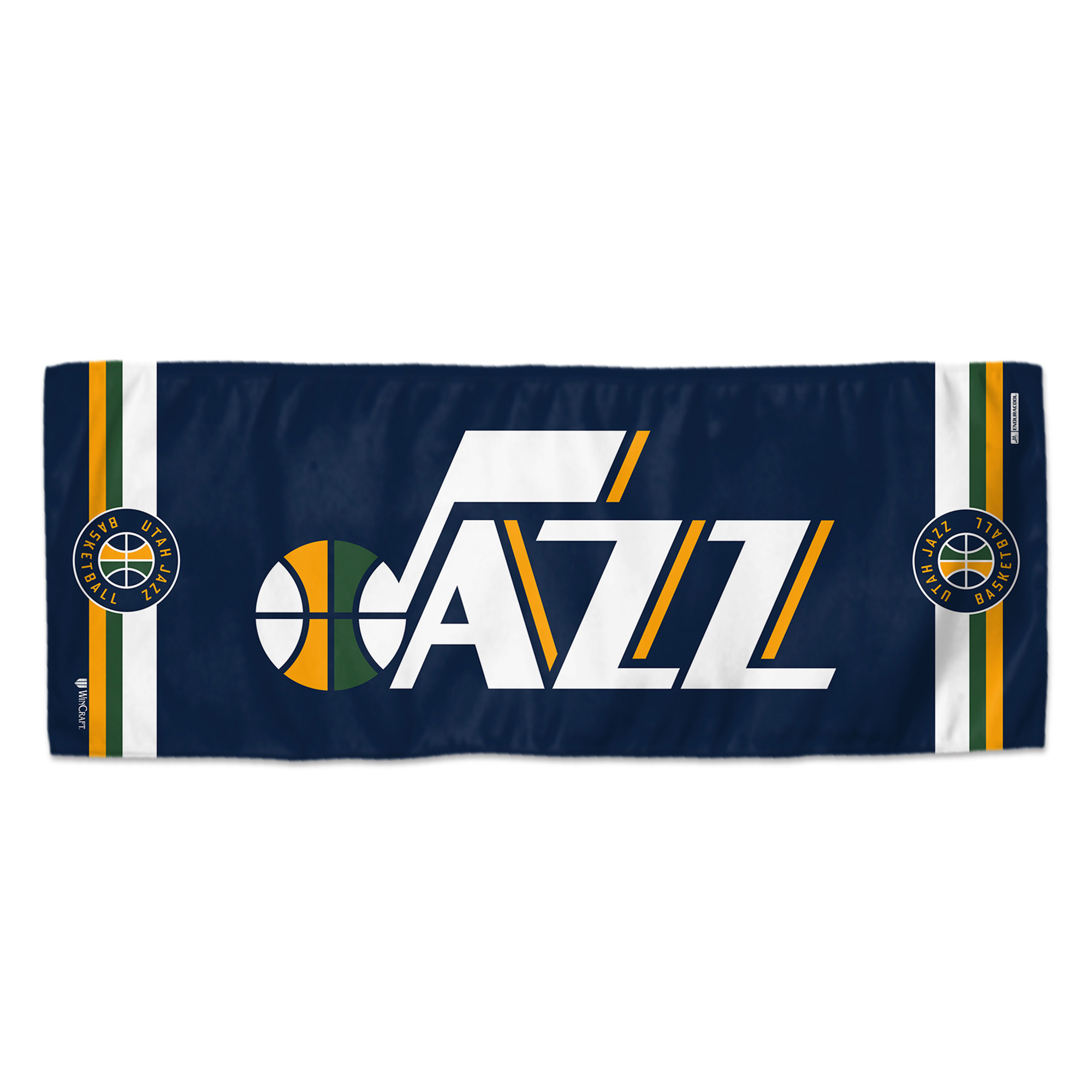 """Utah Jazz WinCraft 12"""" x 30"""" Double-Sided Cooling Towel - No Size"""