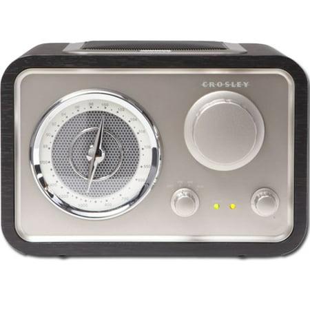 Crosley CR3003A-BK Solo AM/FM Retro Radio ()