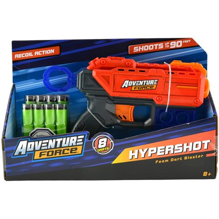 Adventure Force Hypershot Foam Dart Blaster