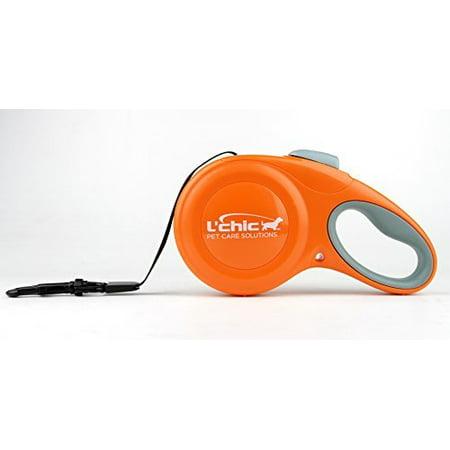 Cozy Grip Retractable Large Leash - Orange ()