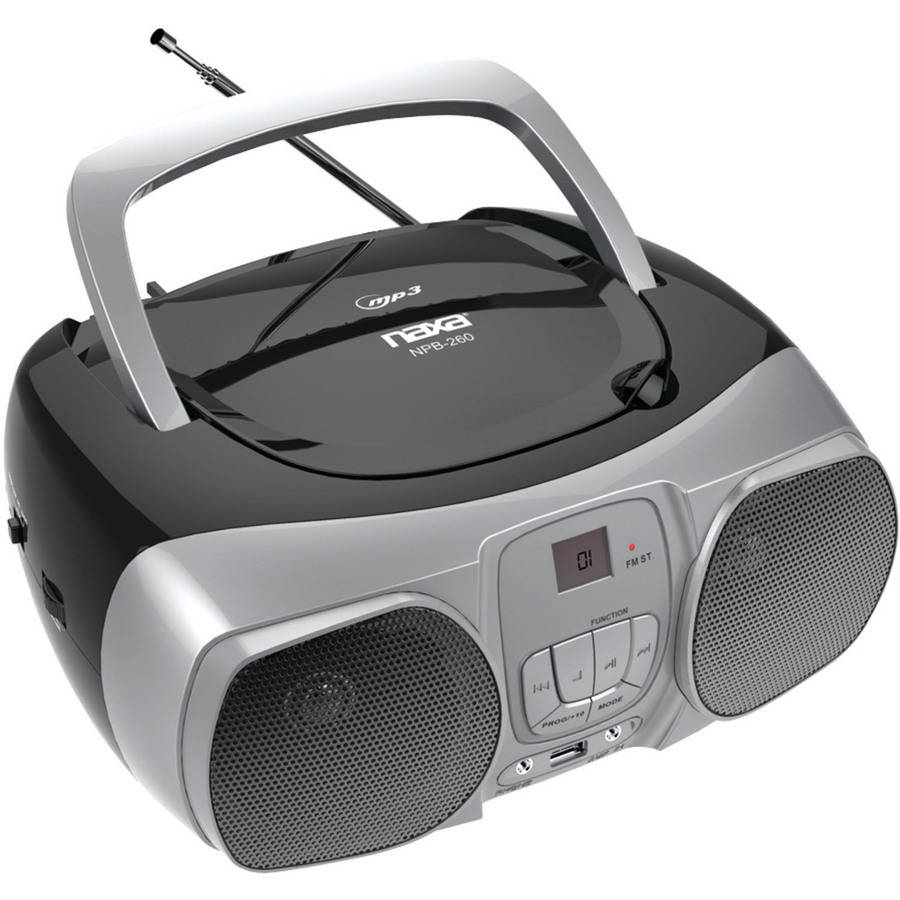 Naxa Npb-260 MP3, CD and CD-R/RW Boombox