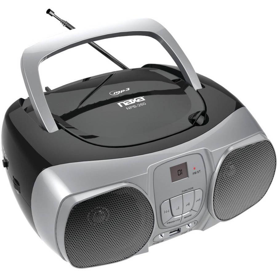 Naxa Npb-260 MP3, CD and CD-R/RW Boombox