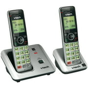 Telephones Cordless, Vtech Cs6619-2 Handset Home Telephone Cordless Landline,  2pc
