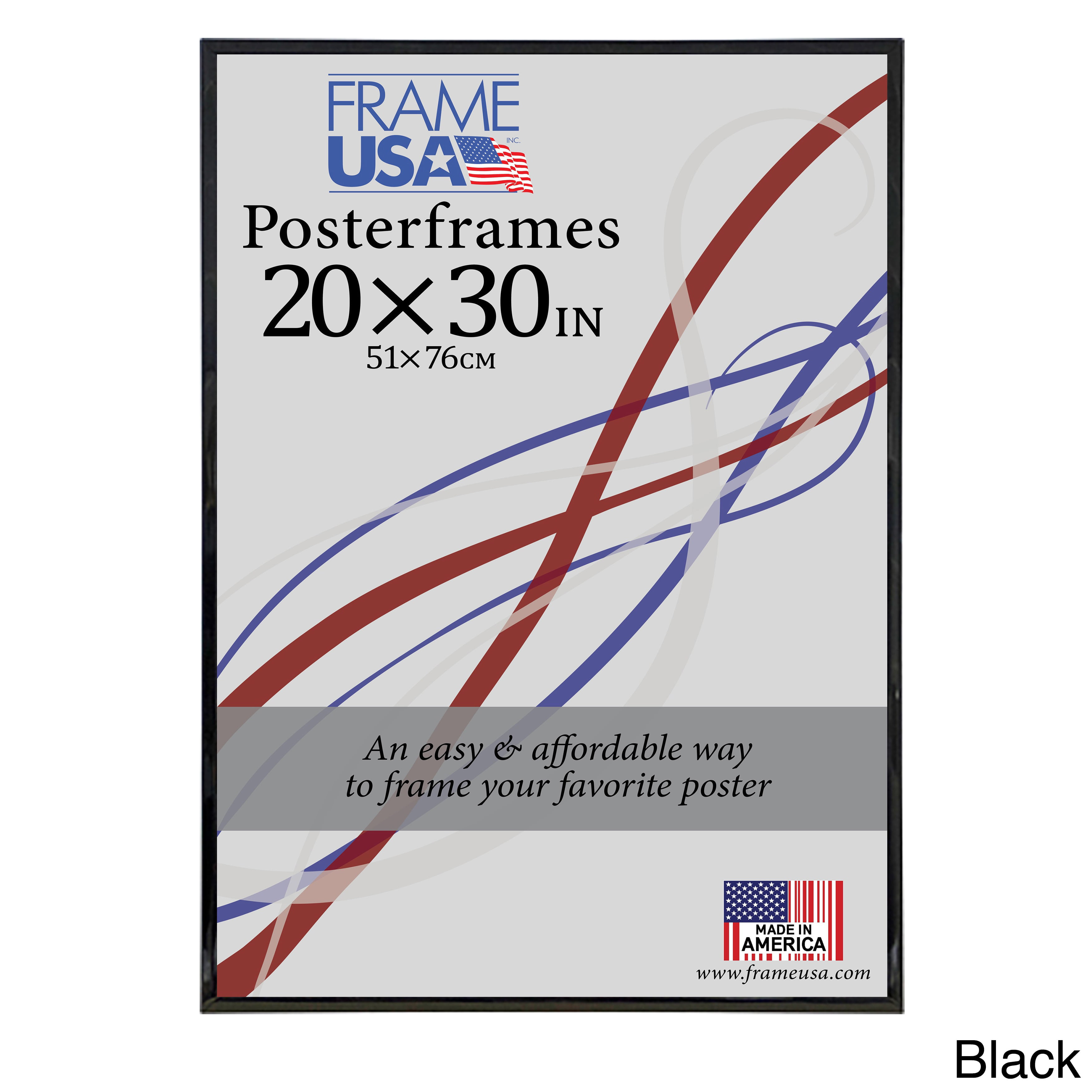 frame usa hardboard poster frame 20 x 30 inch image size walmart com