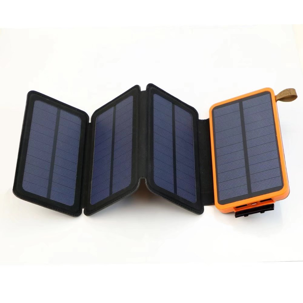 X-DRAGON Solar Charger with Foldable Solar Panel 10000mAh Power Bank Portable Rugged Shockproof Dual USB Solar Battery Charger for iPhone,... by X-DRAGON