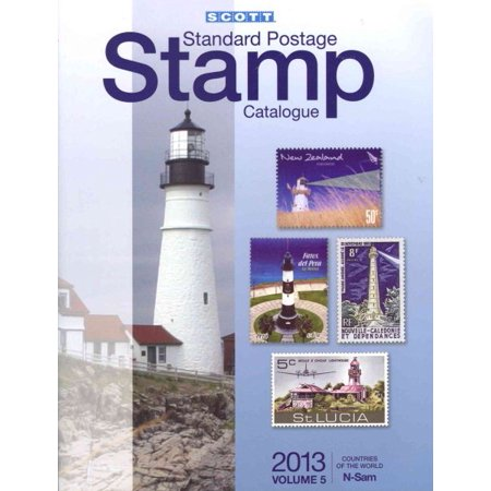Scott 2013 Standard Postage Stamp Catalogue Volume 5 Countries of the World N-Sam