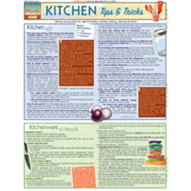 BarCharts- Inc.  9781423205357 Kitchen Tips & Tricks