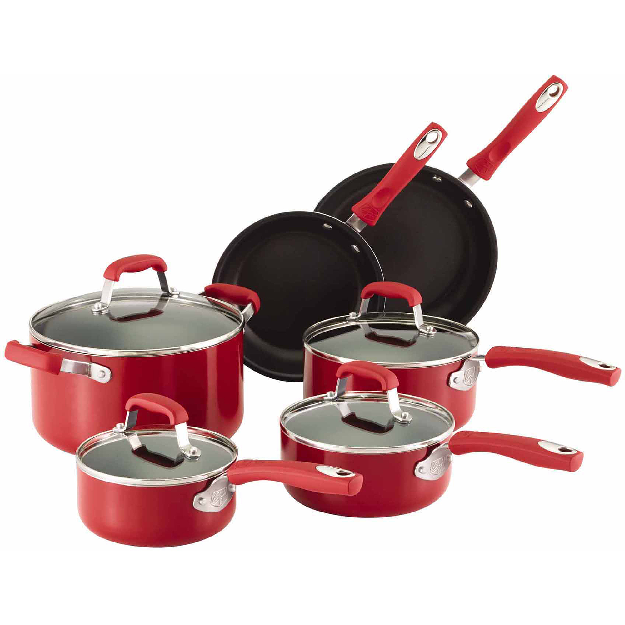 Guy Fieri Nonstick 10-Piece Cookware Set
