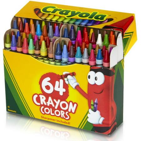 Crayola Crayons 64 ea (Pack of 6)