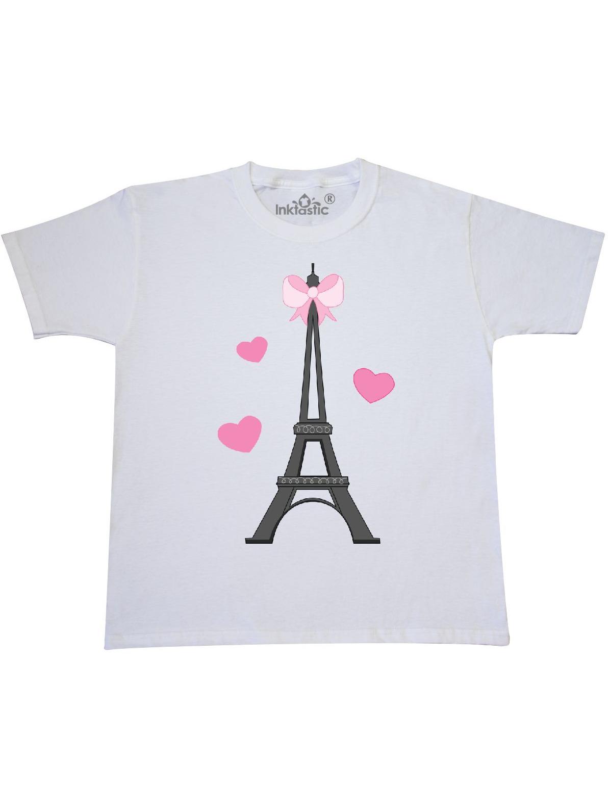 Paris Lover Eiffel Tower Youth T-Shirt