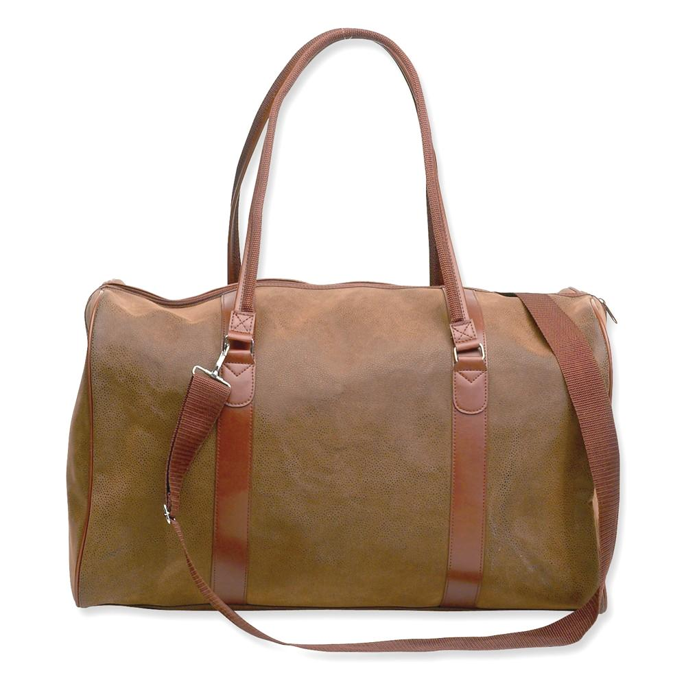 IceCarats Brown Embassy Angola 21 In Tote Bag  Travel Lug...