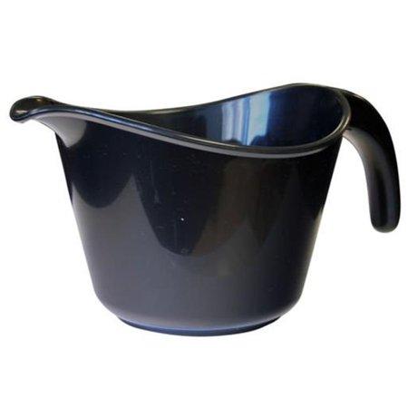 Reston Lloyd  Calypso Basics 2 Quart Microwave Batter Bowl - Black (2 Quart Microwave Safe Bowl)