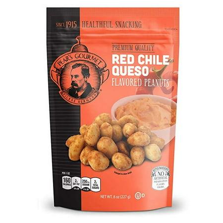 Red Chile Queso Flavored Peanuts - Keto Friendly - 8 oz