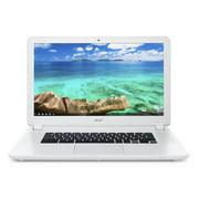 """Acer 15.6"""" Chromebook CB5-571-C4G4, Intel Celeron, 4GB Memory, 16GB Storage, Chrome OS - White"""