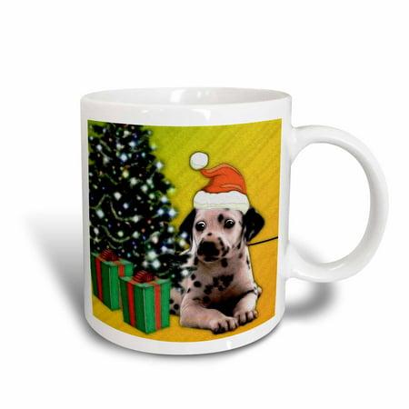 3dRose Dalmatian Puppy, Ceramic Mug, 11-ounce (Dalmatian Mug)