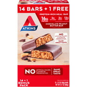 Atkins® Chocolate Peanut Butter Meal Replacement Bar 15 ct Box