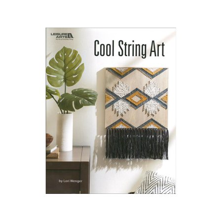 Leisure Arts Cool String Art Bk - Leisure Arts Pad