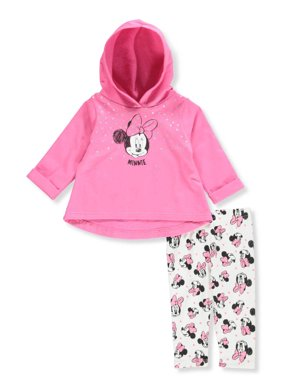 8099618da3 Product Image Disney Minnie Mouse Baby Girls  2-Piece Leggings Set Outfit