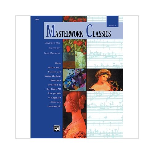 Alfred 00-17213 Masterwork Classics- Level 9 - Music Book