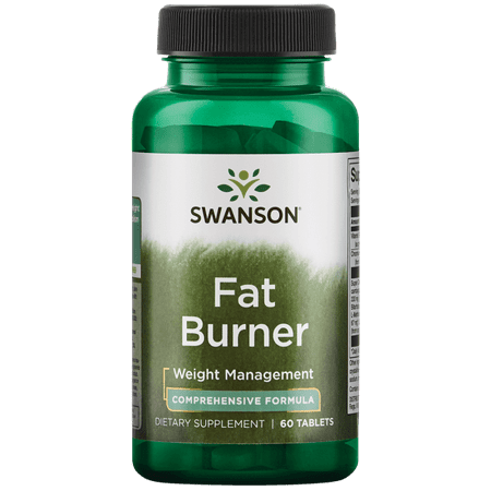 Swanson Fat Burner 60 Tabs (Best Fat Burners To Get Ripped)