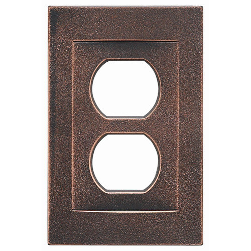 RQ Home Single Duplex Magnetic Wall Plate