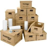 Bankers Box SmoothMove Classic Moving Box Kit, Small/Medium & Supplies