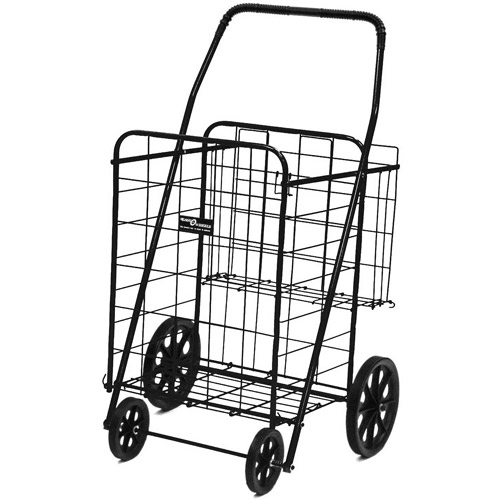 Easy Wheels Jumbo Shopping Cart Plus - Multiple Colors