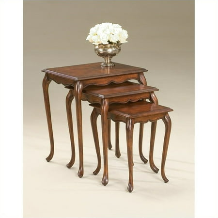 - Beaumont Lane 3 Piece Wood Nesting Table Set