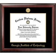 Georgia Institute of Technology  Gold Embossed Diploma Frame