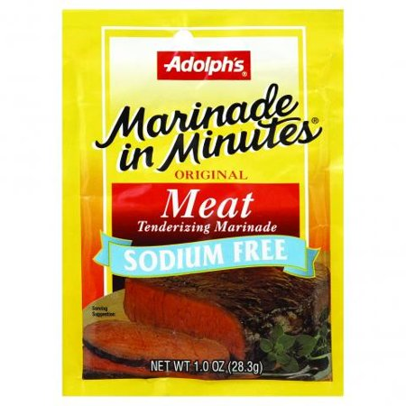 Image of Adolph's Original Meat Tenderizing Marinade Sodium Free, 1 Oz