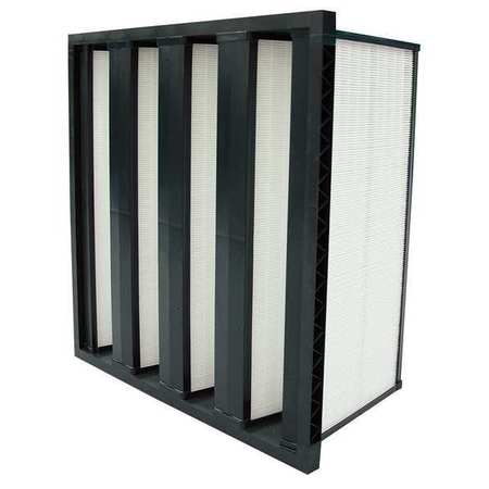 Air Handler 2GHN1 100% Synthetic Media 20x24x12 V-Bank Air Filter