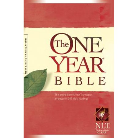 The One Year Bible NLT (Softcover) (J Vernon Mcgee 5 Year Bible Study)