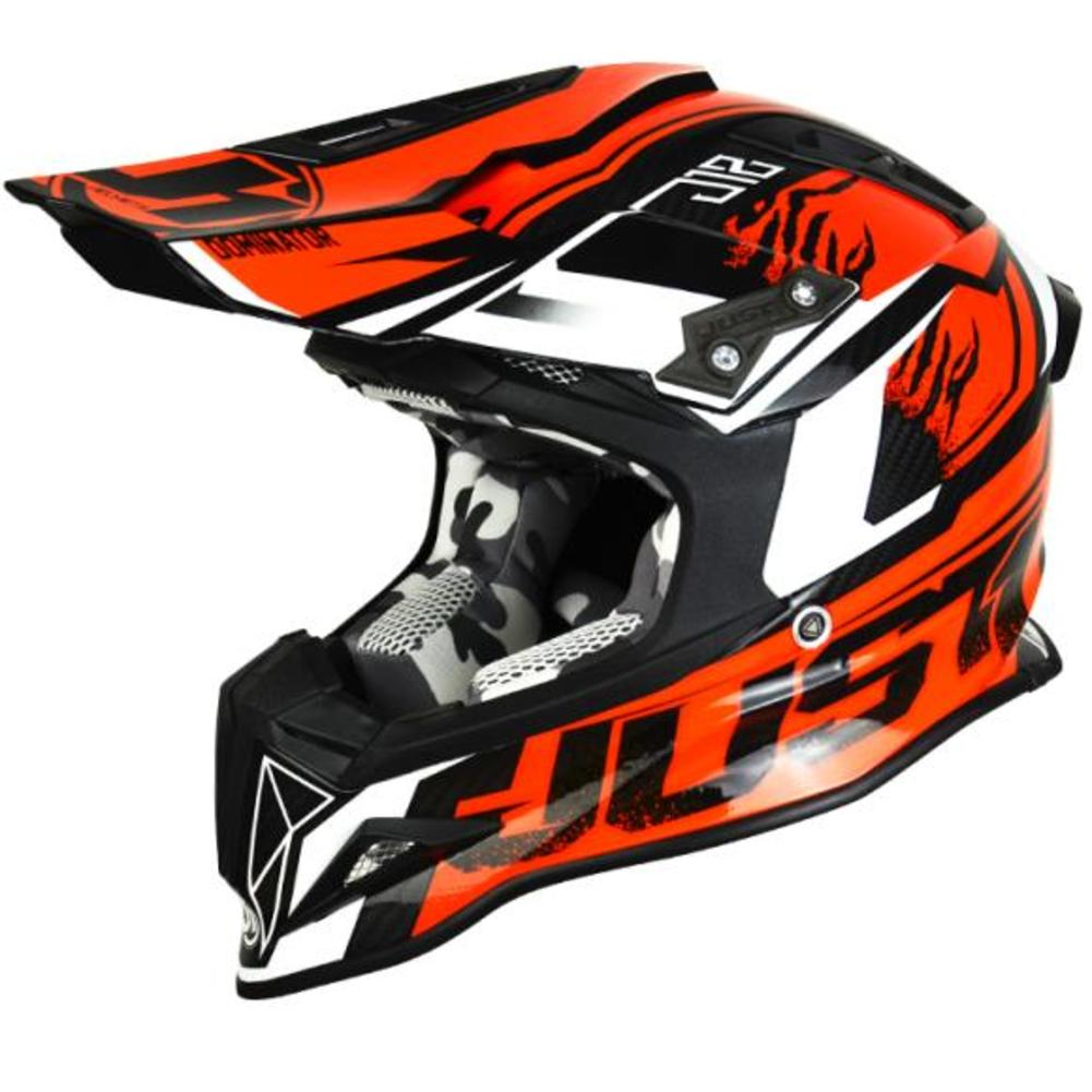 Just 1 J12 Dominator MX Offroad Helmet Orange