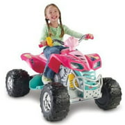 Fisher-Price Power Wheels Barbie KFX 12-Volt Battery-Powered Ride-On
