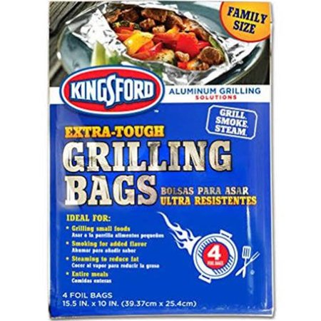 Trinidad Benham 233069 12.5 x 10 in. Kingsford Grilling Bags - Pack of 4 - image 1 of 1