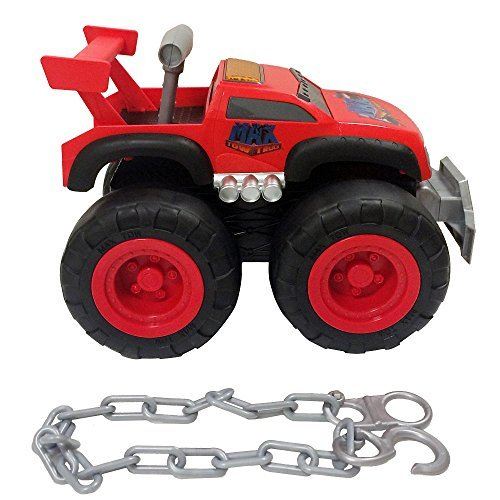 Max Tow Truck 87260-COM-P Max Tow Truck Turbo Speed Red Truck Vehicle by