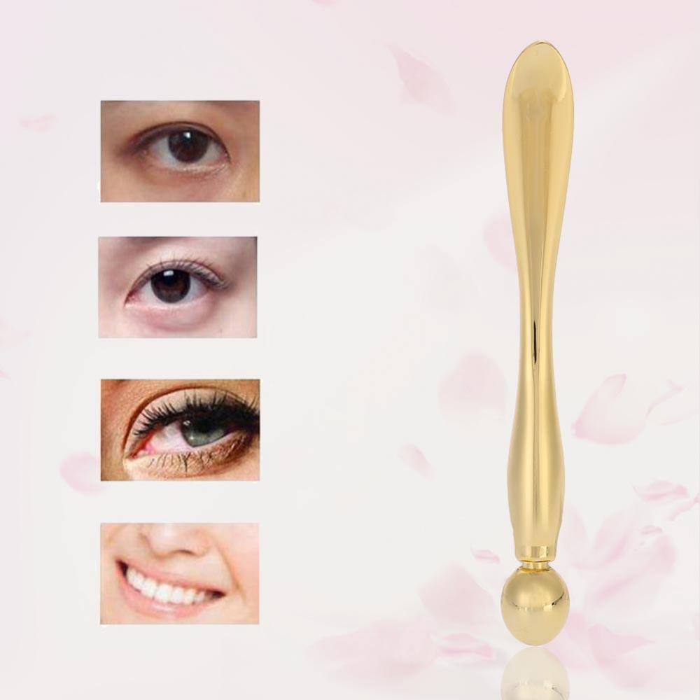 Eye Massage Stick,Fosa Zinc Alloy Face Mask Spoon Anti Wrinkle Eye Fatigue Relief Massage Stick Cream Import Scoop, Eye Cream Massage Stick