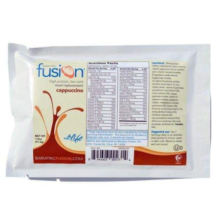 Bariatric Fusion Meal Replacement Single Serving Packet -