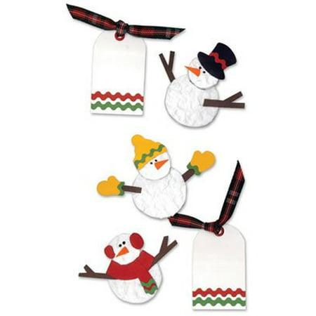 Westrim Embellishments - Fun Snowmen By Paper Bliss ()