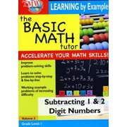 Basic Math Tutor: Subtracting 1 and 2 Digit Numbers by