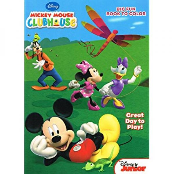 - Mickey Mouse Clubhouse Coloring And Activity Book Set 3 Books 96 Pgs Each -  Walmart.com - Walmart.com