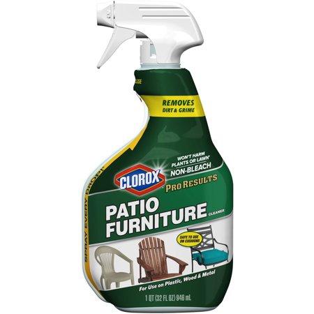 Clorox Pro Results Patio Furniture Cleaner Spray Bottle, 32 fl oz - Clorox Pro Results Patio Furniture Cleaner Spray Bottle, 32 Fl Oz