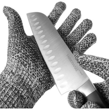 Koolulu Cut-Resistant Gloves, 2 Pack