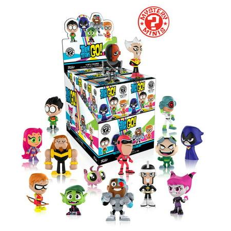 Funko Mystery Mini  Teen Titans Go   One Mystery Figure  Walmart Exclusive