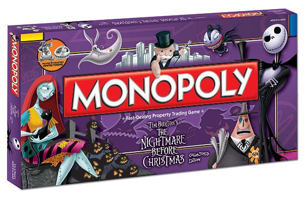 Board Game The Nightmare Before Christmas Monopoly by Board Game