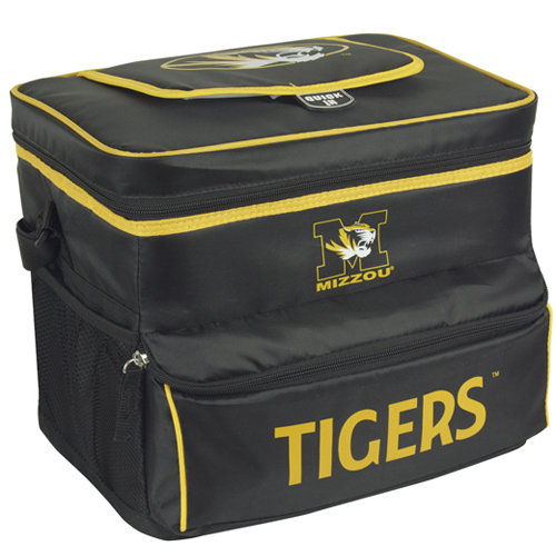 NCAA University Of Missouri 18-Can Cooler with Removable Hardliner