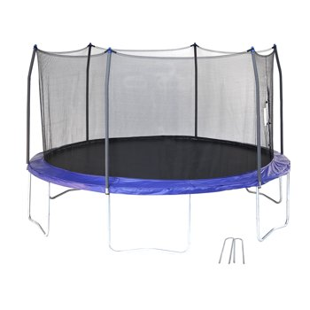 Skywalker Trampolines 14-Foot Trampoline with Wind Stakes