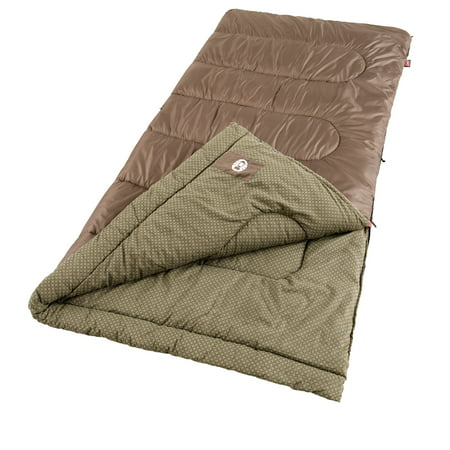 Coleman Oak Point Cool Weather Big and Tall Adult Sleeping Bag for $<!---->